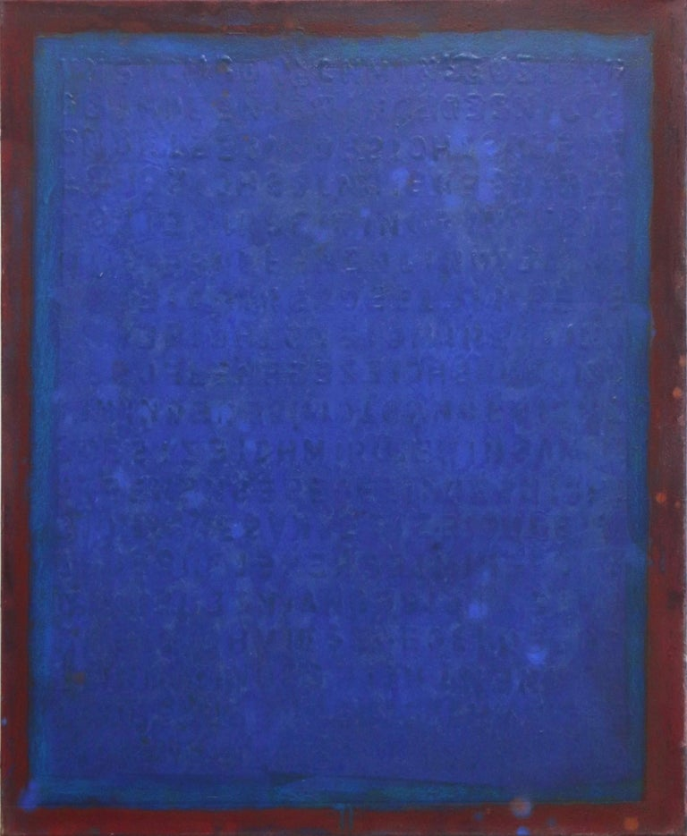 Bernhard Zimmer Abstract Painting - AWH 216