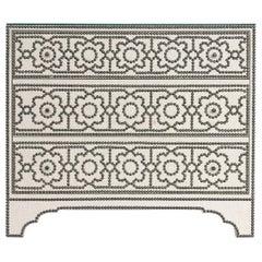 """Bernhardt Furniture """"Cabrillo"""" Nailhead Linen Chest in a Moorish Design"""