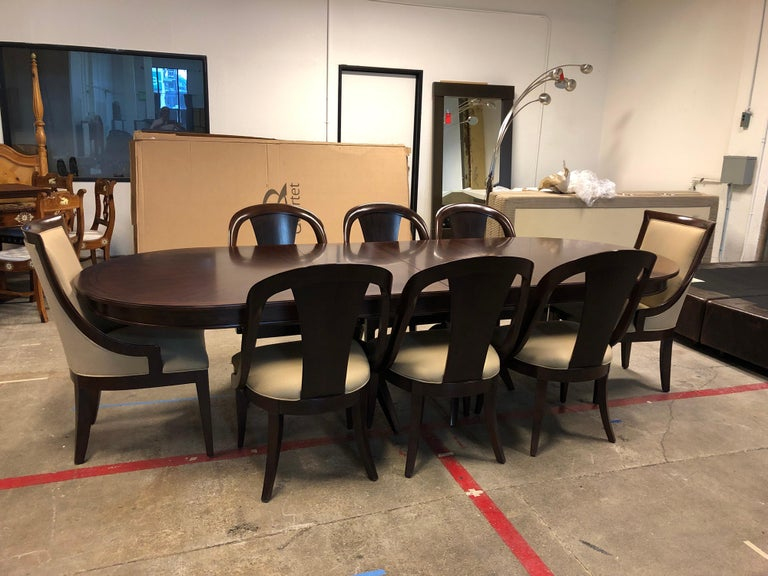 Bernhardt Furniture Martha Whitney Opal Point Collection Table Set In Good Condition For