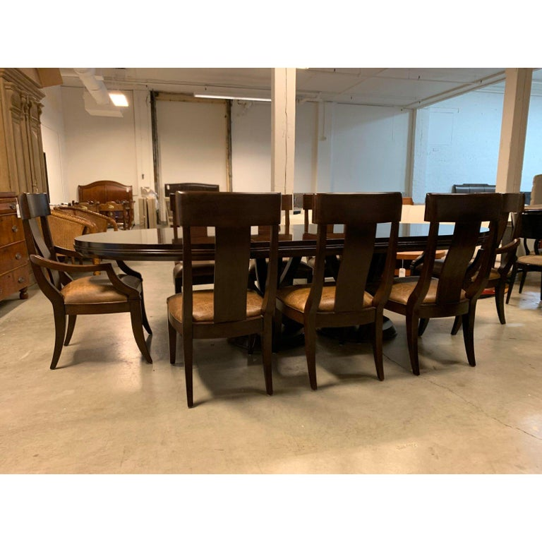 Bernhardt Furniture Table And Eight Chairs For Sale At 1stdibs