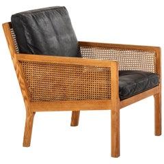 Bernt Petersen Easy Chair Produced by Wørts Møbelsnedkeri in Denmark