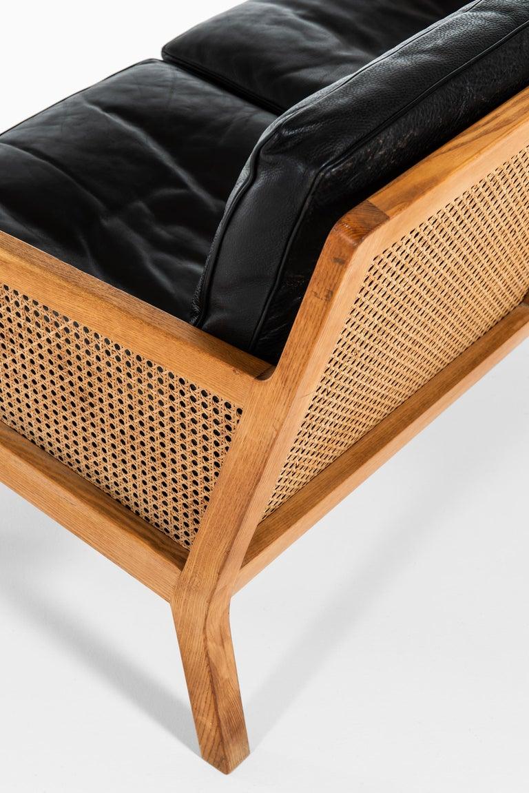 Mid-20th Century Bernt Petersen Sofa Produced by Wørts Møbelsnedkeri in Denmark For Sale