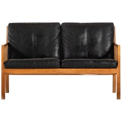 Bernt Petersen Sofa Produced by Wørts Møbelsnedkeri in Denmark