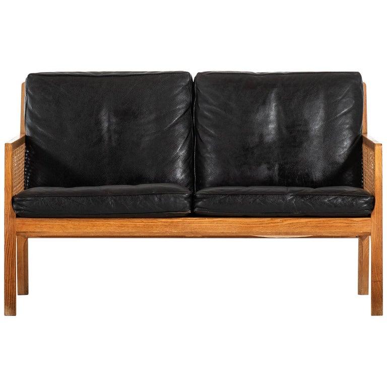 Bernt Petersen Sofa Produced by Wørts Møbelsnedkeri in Denmark For Sale