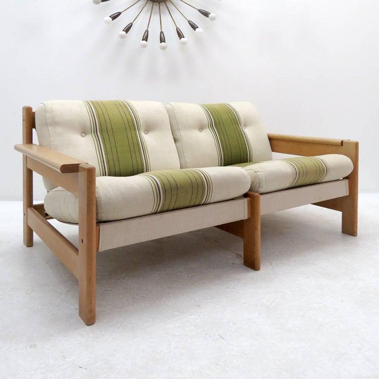 Scandinavian Modern Bernt Petersen Two-Seat Sofa, 1970 For Sale