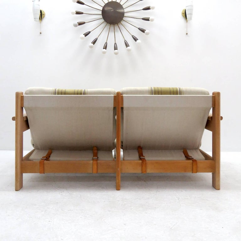 Bernt Petersen Two-Seat Sofa, 1970 In Excellent Condition For Sale In Los Angeles, CA