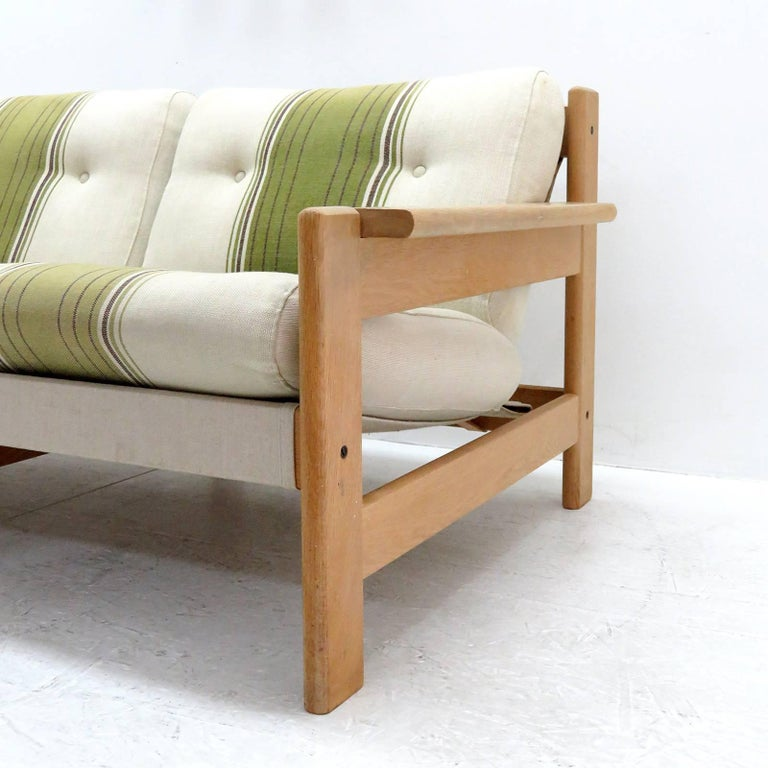 Late 20th Century Bernt Petersen Two-Seat Sofa, 1970 For Sale