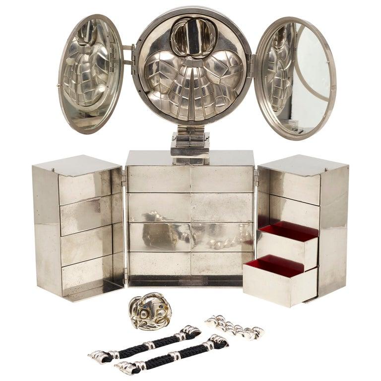 Berrocal Paloma Jewelry Box and Retrato de Paloma For Sale