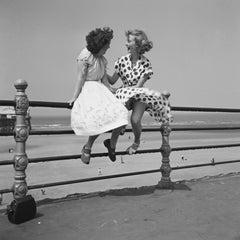Blackpool Railings (1951) - Silver Gelatin Fibre Print