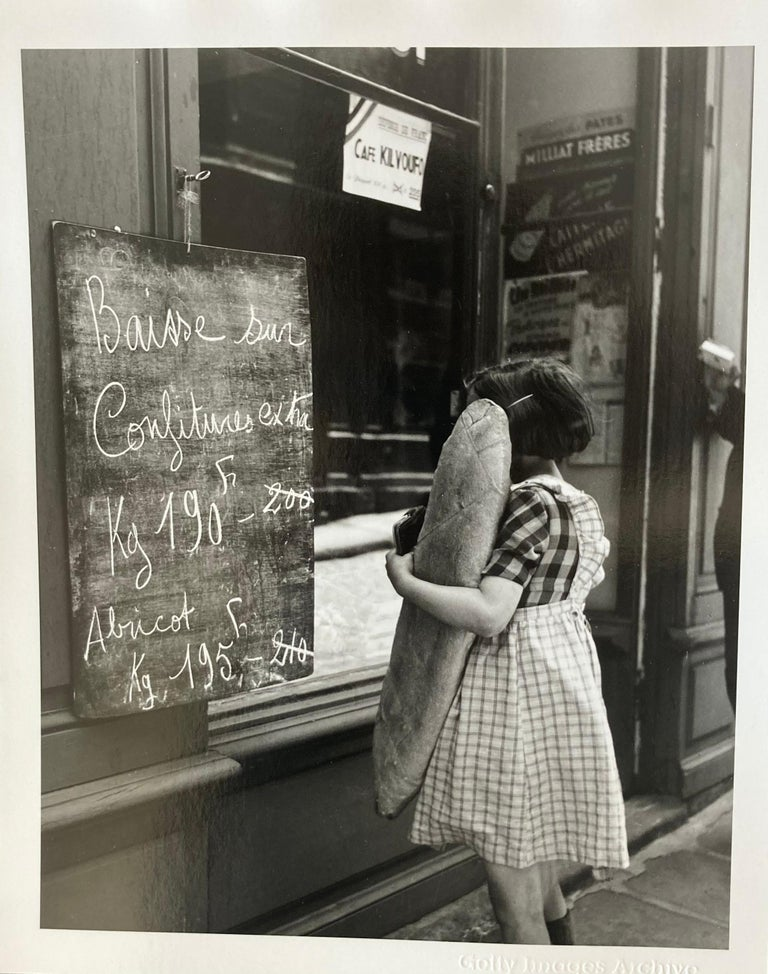 'French Economy' Bert Hardy Limited Edition Silver Gelatin Fibre Print - Black Black and White Photograph by Bert Hardy