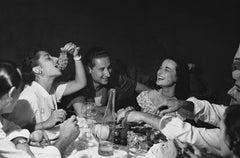 """Italian Party"" Silver Gelatin Print, 1949 Positano, Italy"