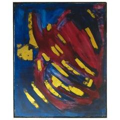 Bert Miripolsky Abstract Oil Painting