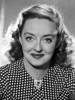 Bette Davis Smiling Classical Portrait Movie Star News Fine Art Print
