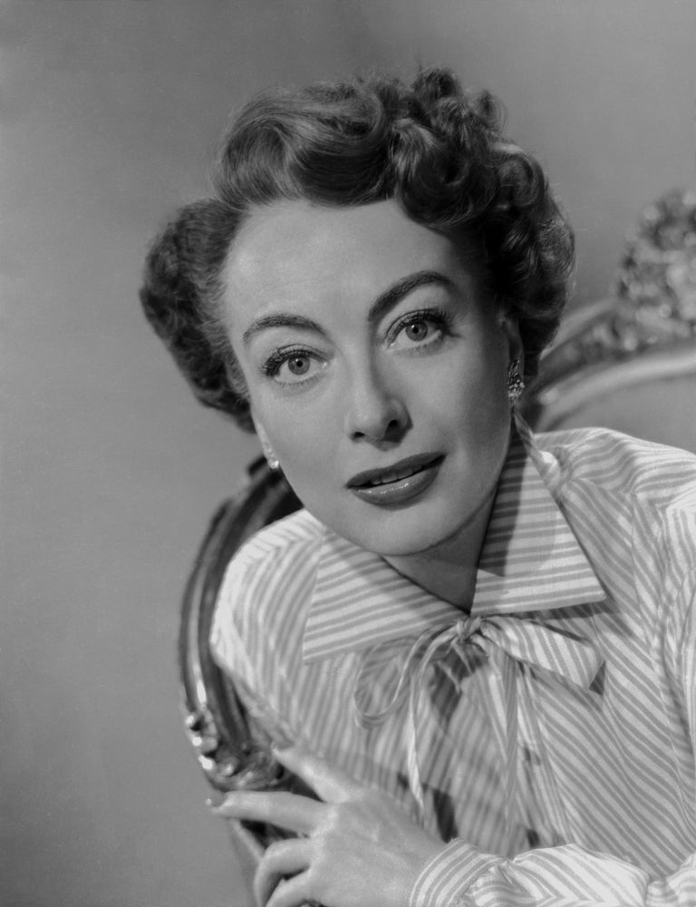 Bert Six Black and White Photograph - Joan Crawford Classic Glamour Movie Star News Fine Art Print