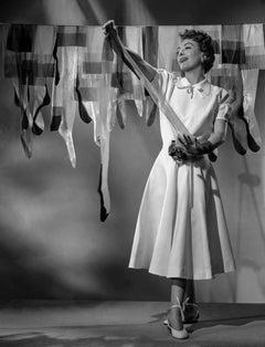 Joan Crawford Hanging Laundry Fine Art Print