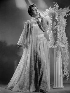 Joan Crawford in Sheer Gown Movie Star News Fine Art Print