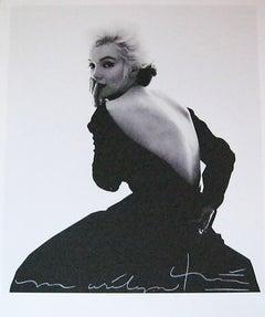 Bert stern Marilyn back in the Dior dress