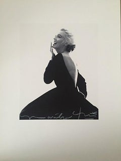 Bert stern Marilyn laughing in the famous Dior dress