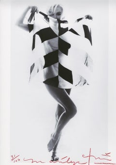 "Bert stern ""Marilyn Monroe  black and white scarf   "" 2012"