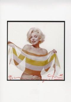 Bert stern Marilyn Monroe slanted scarf
