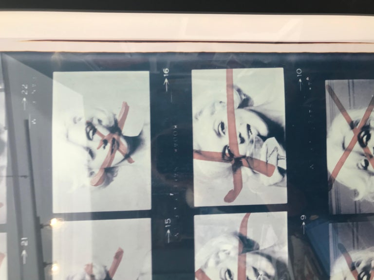 last sitting of marilyn monroe negatives For Sale 1