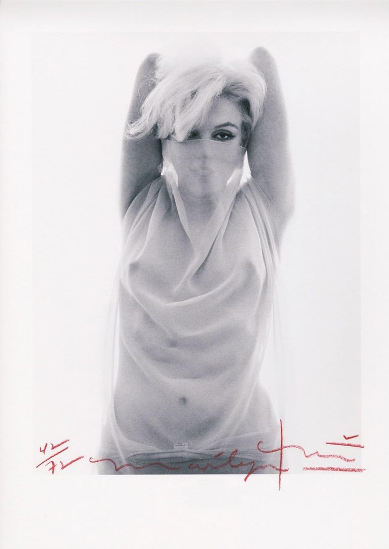 Bert Stern Portrait Photograph - Marilyn Arabian