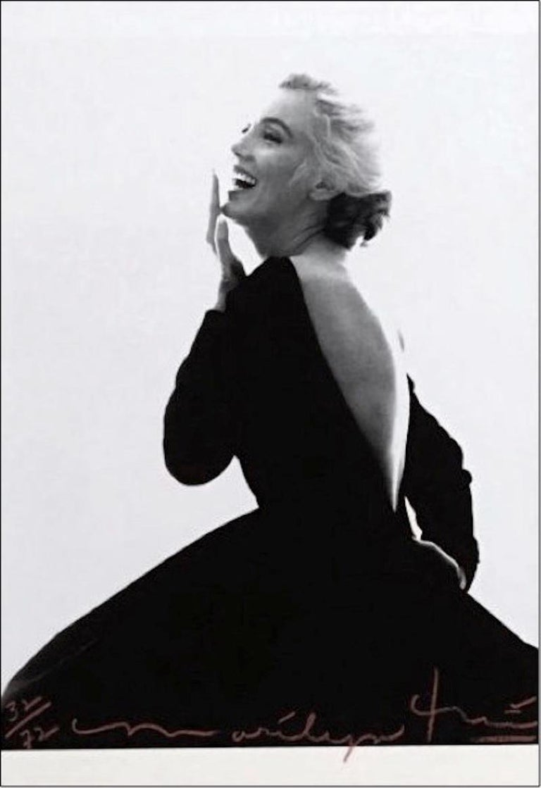Marilyn: Dior Dress III, Bert Stern - Photograph by Bert Stern