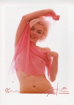 Marilyn Monroe . Marilyn Monroe pink angel . The last sitting