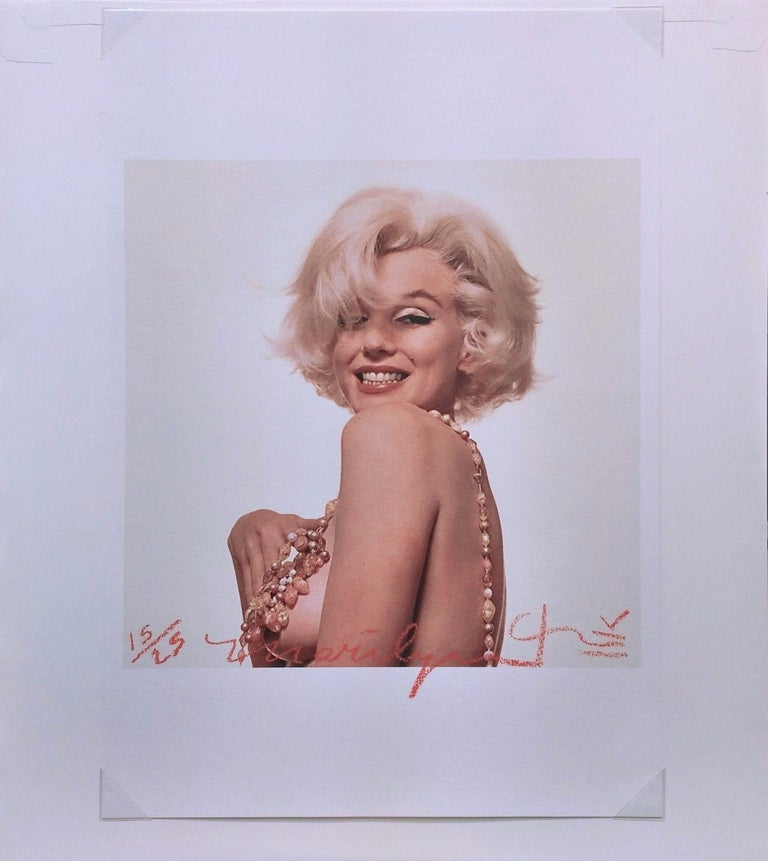 MARILYN MONROE THAT FAMOUS SMILE - Photograph by Bert Stern