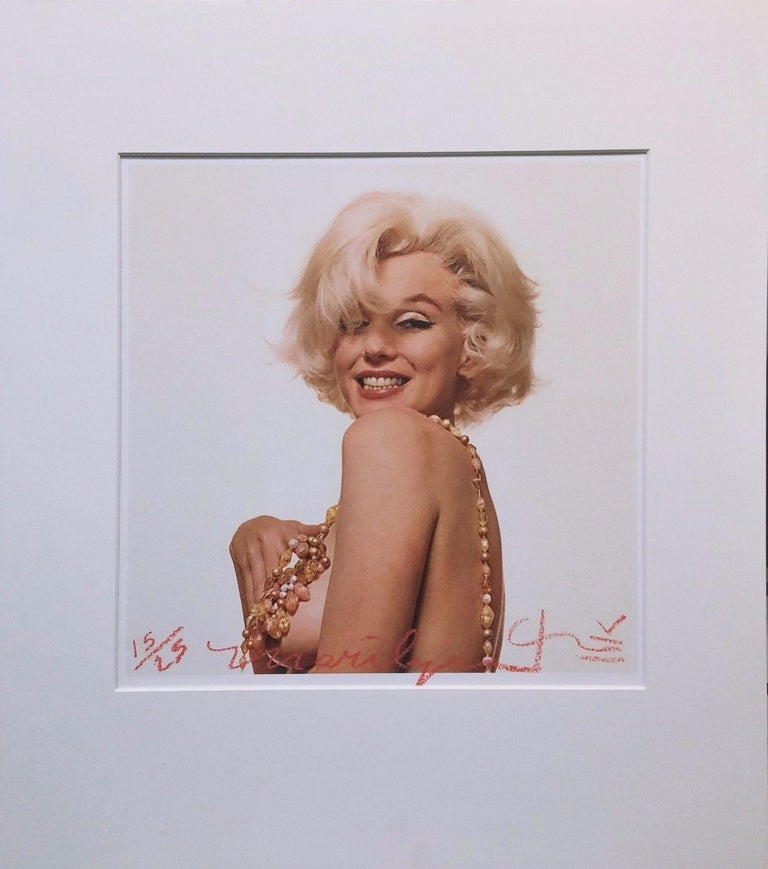 Bert Stern Portrait Photograph - MARILYN MONROE THAT FAMOUS SMILE
