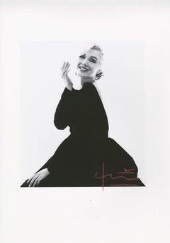 Marilyn new black dress by Bert Stern