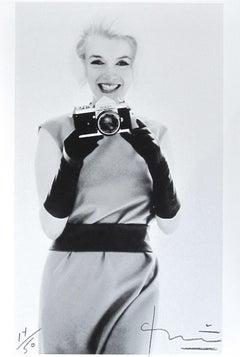 Marilyn with Nikon, Bert Stern