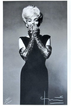 Marilyn with Sequin Gloves