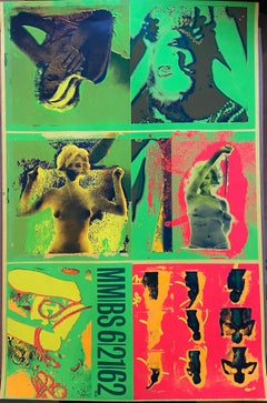Bert Stern - Silkscreen The last session - Green