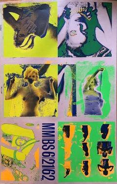 Bert Stern - Silkscreen The last session - YELLOW
