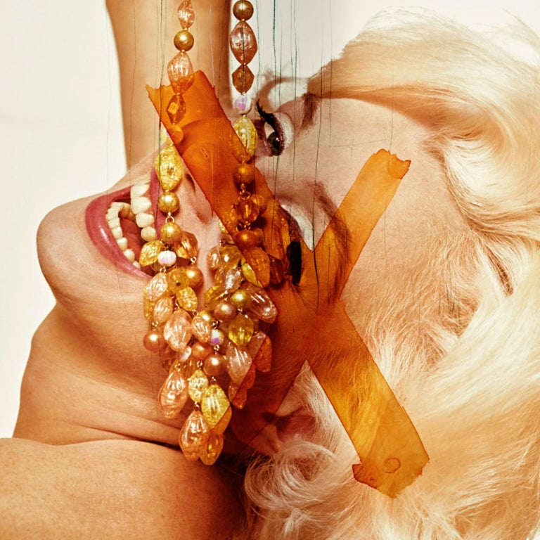 Marilyn Monroe by Bert Stern, C-Print 'Marilyn with Jewels' -Signed & Editioned For Sale 1