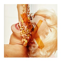 Marilyn Monroe by Bert Stern, C-Print 'Marilyn with Jewels' -Signed & Editioned