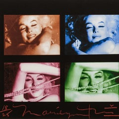 Marilyn Monroe Contact Sheet By Bert Stern -The Last Sitting - Colour & Signed