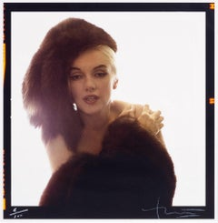 Marilyn with Fur Hat, Bert Stern