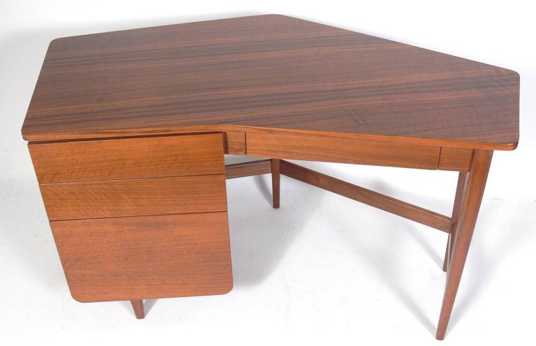 Mid-Century Modern Bertha Schaefer for Singer & Sons Desk For Sale