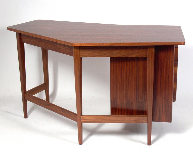 Mid-20th Century Bertha Schaefer for Singer & Sons Desk For Sale