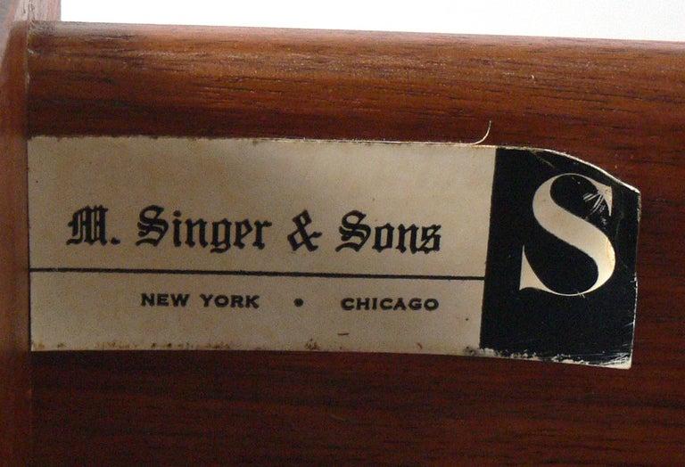 Wood Bertha Schaefer for Singer & Sons Desk For Sale
