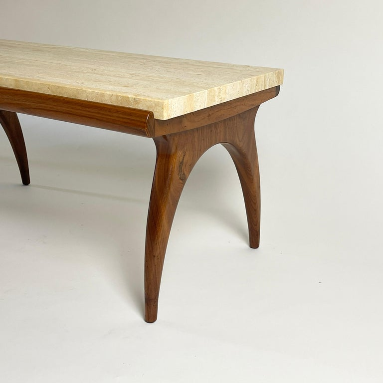 Heavy coffee table. Rare piece in very nice condition.