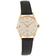 Berthoud Women's Hand-Winding 18k Rose Gold Watch w/ Leather Band