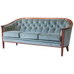 Bertil Fridhagen 'Aristokrat' Club Sofa, circa 1960