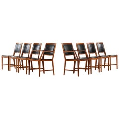Bertil Fridhagen Dining Chairs Model Diamant Produced by Bodafors in Sweden