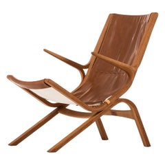 Bertil Fridhagen Easy Chair Produced by Bodafors in Sweden