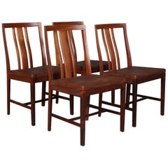 Bertil Fridhagen Set of Four Dining Chairs Rosewood