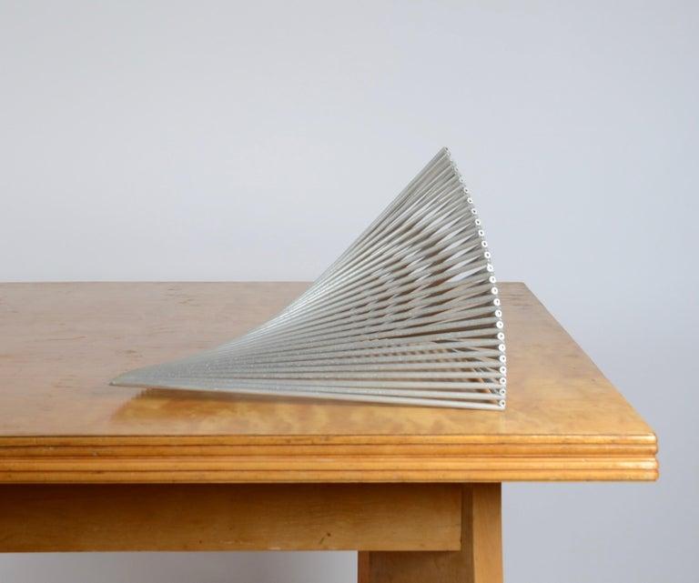Aluminum Bertil Herlow Svensson, Sculpture, Sphere For Sale