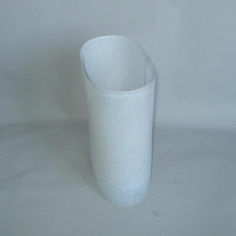Bertil Vallien Kosta Boda Swedish Art Glass Vase Rainbow For Sale 3